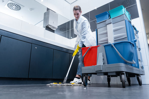 Washroom Office Cleaner washroom services